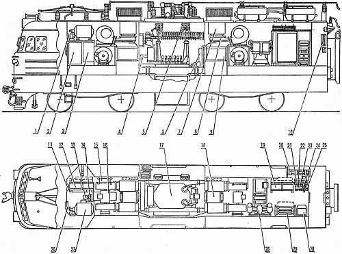 Расположение оборудования на